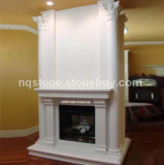 F-240出口加拿大JUPITER莎安娜米黄壁炉架FIREPLACE MANTEL