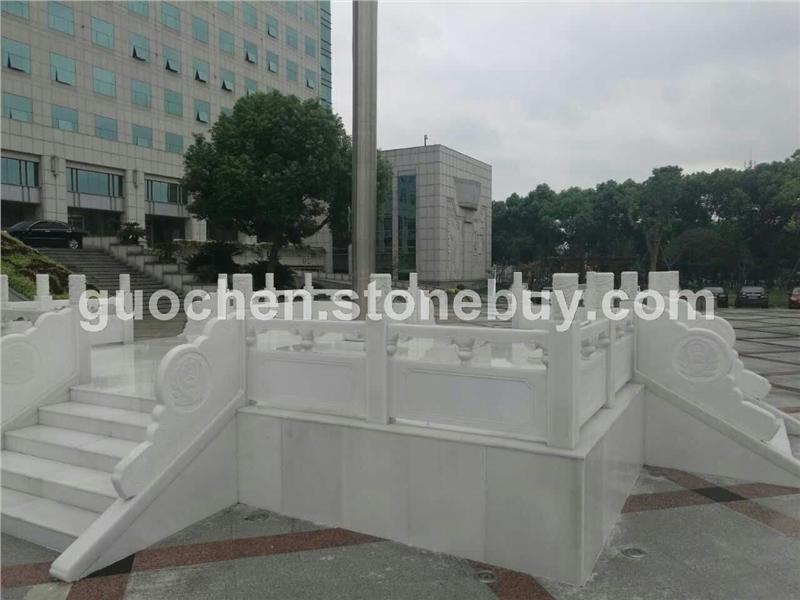 汉白玉 栏板浮雕工程