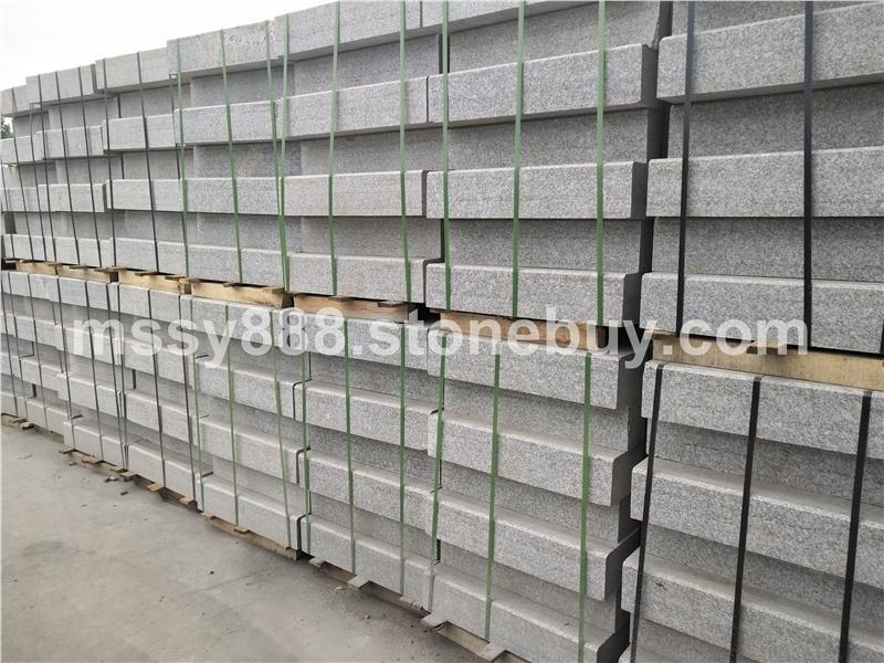 大鸿石业小铁灰/珍珠灰石材路沿石加工