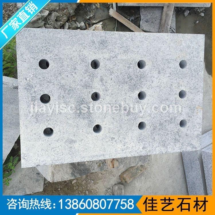 G654圓孔水溝石綠板地鋪
