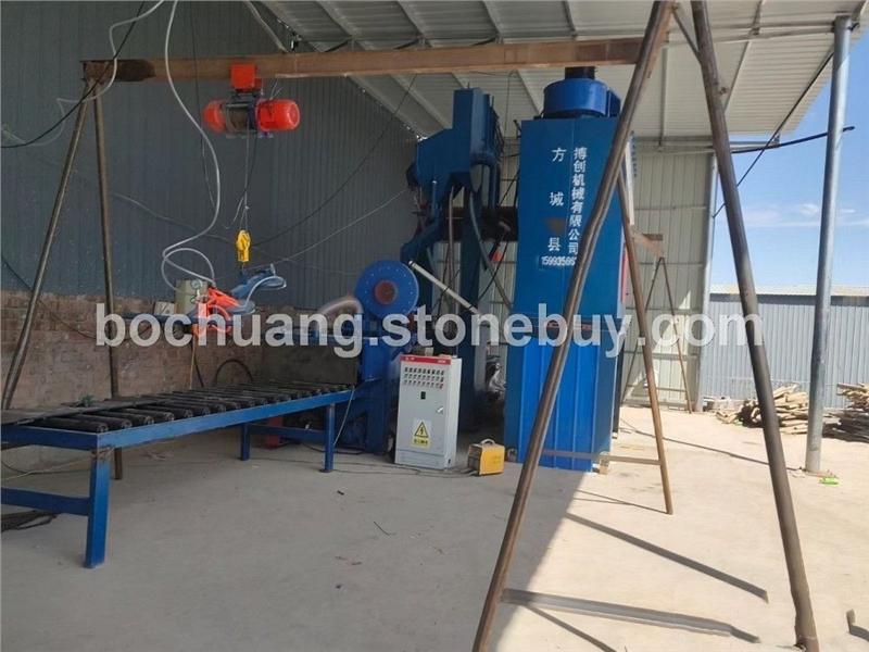 喷砂机厂家、石材机械、内乡石材机械