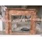 F-063(Fireplace Mantel专业设计、制作石材壁炉架)