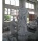 石雕刻佛像滴水观音G633站莲花人物圆雕塑寺庙佛教宗教菩萨雕像园林景观公园.jpg