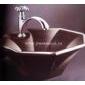 木鱼石洗手盆-大理石洗手盆