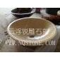 B-042进口米黄大理石洗手�盆