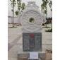 石※雕和谐玉璧,文化广场石太阳雕,嘉祥石雕,城市雕塑,小区景观�雕塑