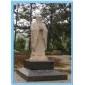 孔子故里供孔子标准像雕塑;石雕孔子行教像等圣贤雕像,人物雕像,校园雕塑