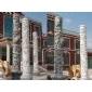 文化柱石雕龙柱华表,属相,石雕12生肖福运石雕,十二生肖柱