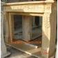 曲阳石雕大理石壁炉雕刻
