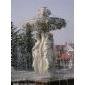 曲阳石雕西方人物喷泉雕刻