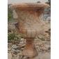 曲陽石雕長期定做批發大理石花盆雕刻工藝品
