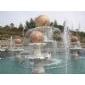 曲阳石雕风水球喷泉雕刻