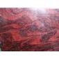 新矿幻彩麻板材染色成的幻彩红