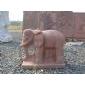 红砂岩小象