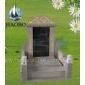 供��中��式墓碑 中式墓碑 ���饶贡� 灰色墓碑 雕刻