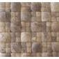 佛山天然装饰材料大小拼椰壳马赛克,椰壳马赛克装饰线板(图)