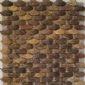 佛山新產品原生態裝飾材料UV磨光椰殼馬賽克
