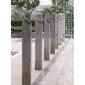 仿古石雕井臺井口栓馬樁,石磨,望樁系馬樁禮器
