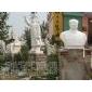 毛泽东雕像石雕毛主席站坐半身像;寿星白求恩孔子校园雕塑伟人名人雕像
