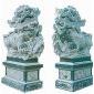 石狮子 青石狮子雕刻 北京狮 园林雕刻