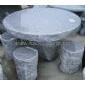 石桌凳 园林雕刻 园林景观 石雕 石制品 庭院家具 庭院产品