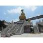寺庙建筑 石雕 佛像雕刻