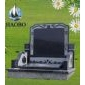 中式墓碑 国内墓碑 中国墓碑 黑色墓石 雕刻