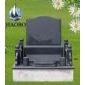 中式墓碑 艺术碑 黑色墓碑 雕刻