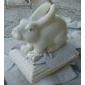 园林动物雕刻 石雕 动物雕刻 兔子雕刻