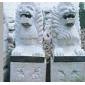 工艺石雕 狮子