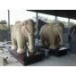 砂岩大象雕刻 石雕