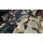 3 秀板s1120碎拼石 园林铺路石材 随意铺装 效果自然 量大优惠 按吨出售