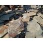 锈板s1120乱形 内外墙装饰 园林 小区路面铺装 碎拼冰裂纹效果 质优价廉