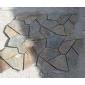 5 八片网贴文化石 冰裂纹碎拼专业加工 代工花岗岩大理石碎拼