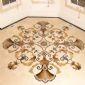 奢侈玉石水刀拼花地板 石材拼花定做 大理石拼花地板