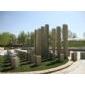 景观柱,假山石,园林景观,喷水柱,六方石
