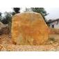 黄蜡石刻字石景观石