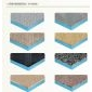 芝麻白、黄金麻、安溪红、霞红、摩卡石等各种天然石材保温复合板