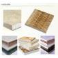 西班牙米黄、帝王金、深啡网、英国→棕保温复合板