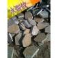 冰裂纹石材 板岩黄木纹碎拼专业生产 铺路碎拼石材