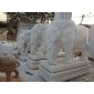 大象动物雕刻