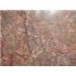玛瑙红大理石