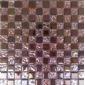 玫瑰金电镀玻璃马赛克客厅屏风吧台装潢砖