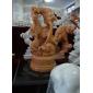 漢白玉佛像和觀音