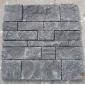 黑色石灰石自然滚筒面(文化石)