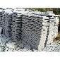 【园林工程】江西九江g603芝麻白自然面花岗岩花坛石