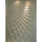 艺术背景墙,浮雕背景墙,数控雕刻,CNC雕刻,波浪板,