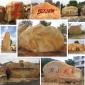 园林黄蜡石、园林刻字石、园林石、园林石厂家