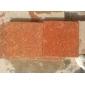 光泽红石材厂福建红光泽红荔枝板程板材广场石路沿石