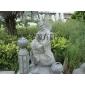 济公石雕 人物雕像园林雕塑